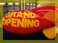 11ft custom advertising blimp $725