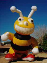 advertising bee